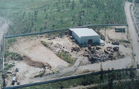 foto aérea da propriedade